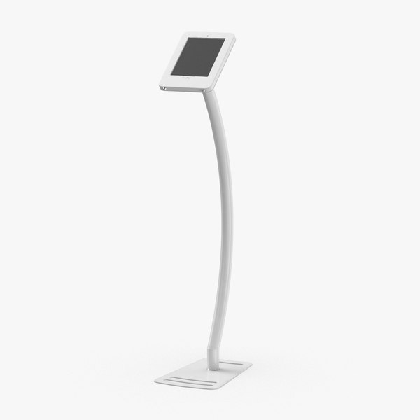 3D tablet-stand-01---white model