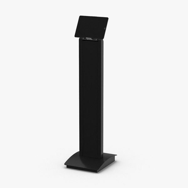tablet-stand-03---black 3D