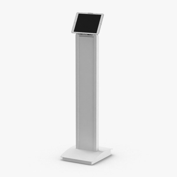tablet-stand-03---white 3D model