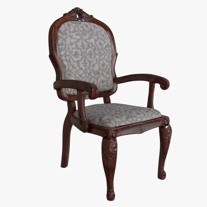antique chair model