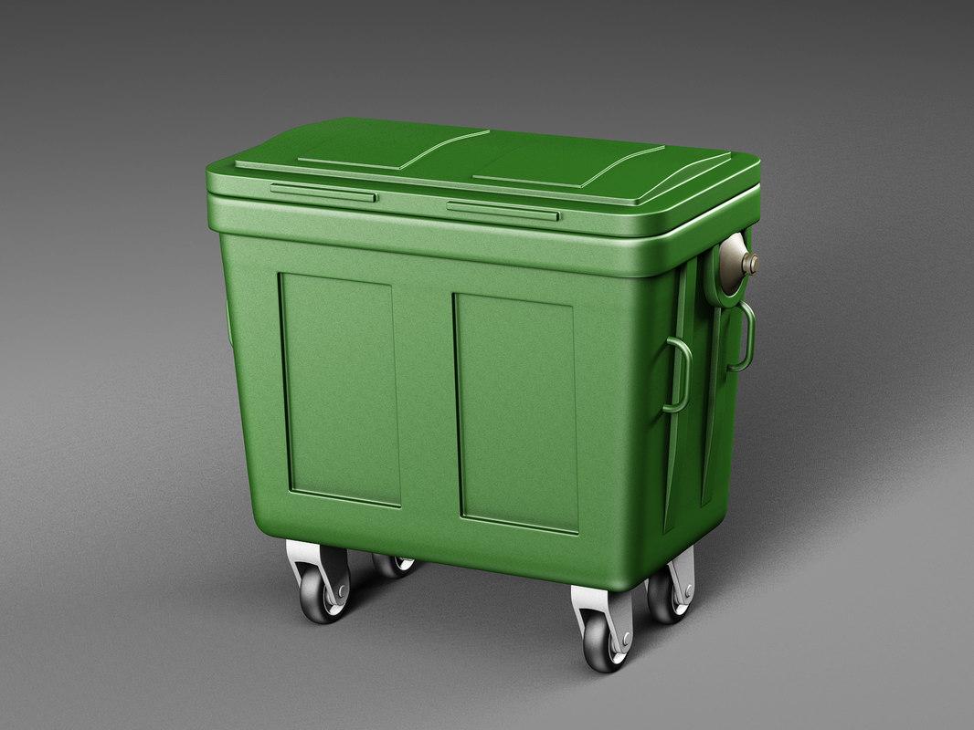 3D dumpster industrial