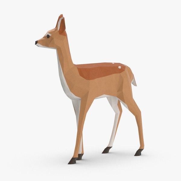 fawn---standing 3D