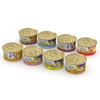 3D gourmet cans