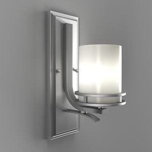 3D kichler wall sconce lights model