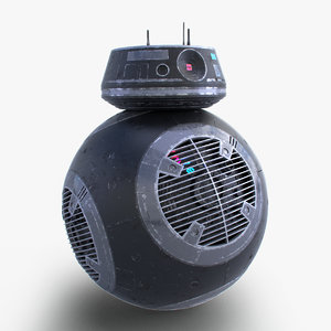 3D model star wars bb-9e droid