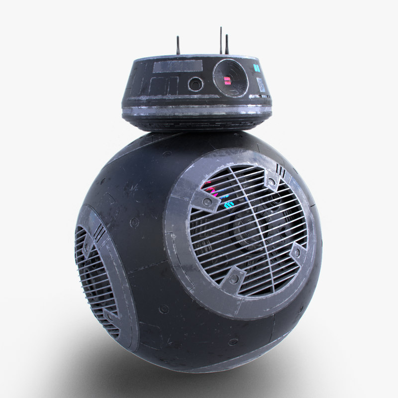 3D model star wars bb-9e droid