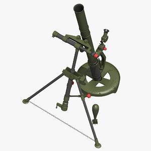 3D m224 mortar