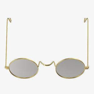 3D classic glasses
