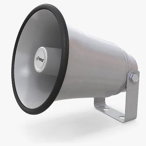 horn speaker 3D