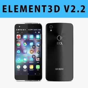 - e3d 5 3D model