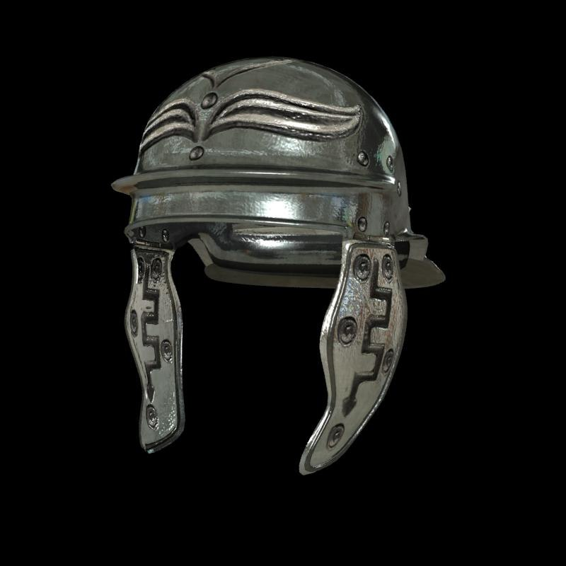 roman helmet model