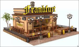 3D restaurant frankfurt