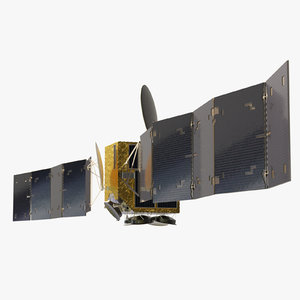 satellite space model
