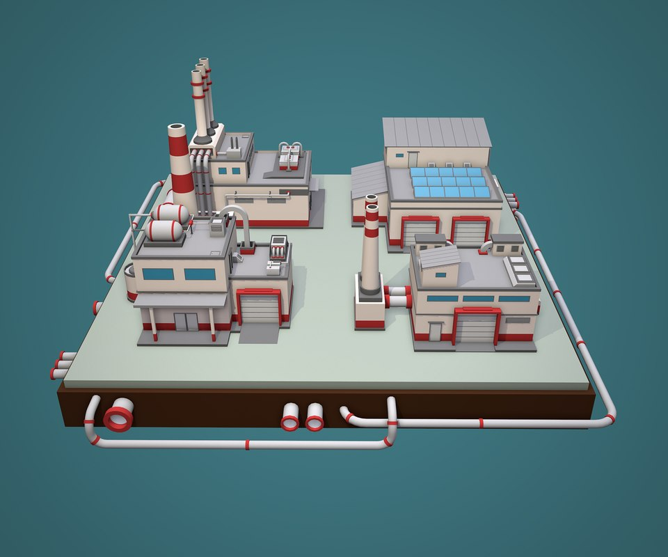 3D factory pack pipeline