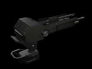 3D turret model