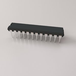 28 pin microchip model