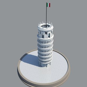 3D tower 2018 italy