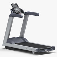 treadmill precor trm 445 3D model