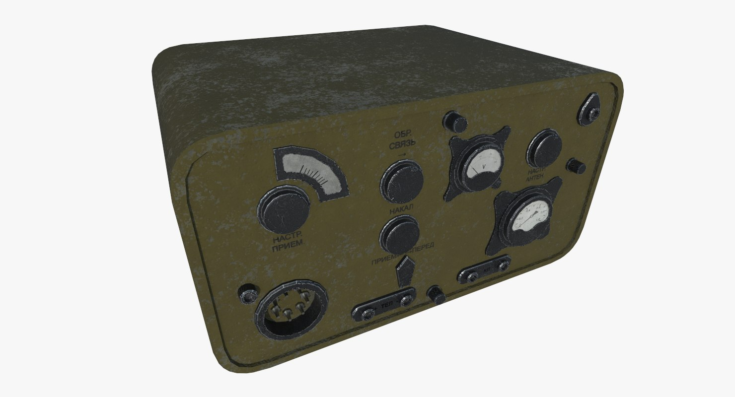 radio military north 3D