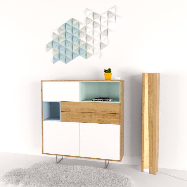 3D design decorative space