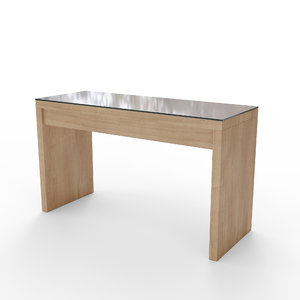 3D minimal style dressing table