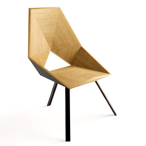 3D los angeles chair -