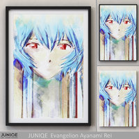3D juniqe picture evangelion model