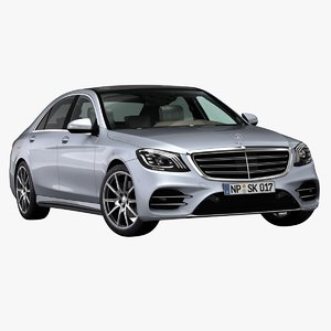 3D 2018 mercedes-benz s-class