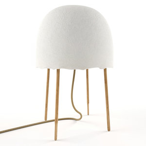 foscarini kurage table lamp 3D model