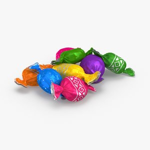3D hard-candies---group