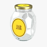 glass jar model