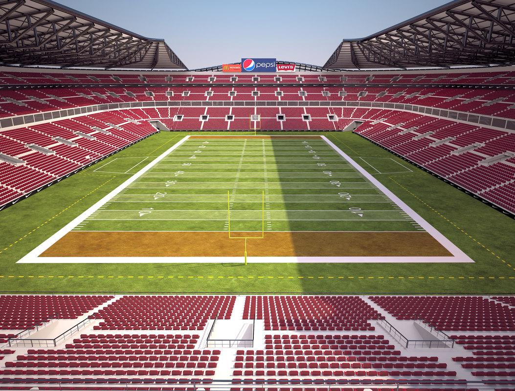 football stadium ball model