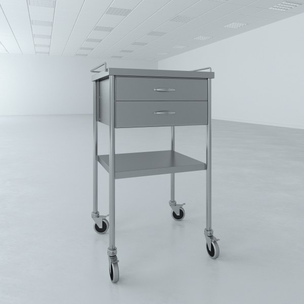 Utility Table Drawers Model