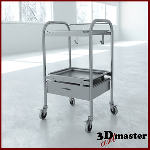 anesthesia cart drawer model