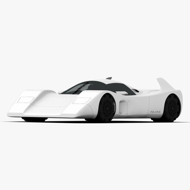 polaris concept car 3D model