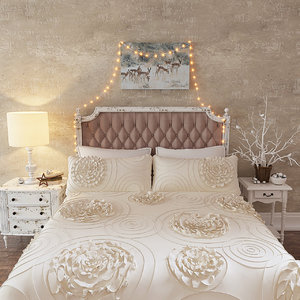 3D bedding set lush dekor model