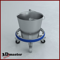 stainless steel kick bucket model