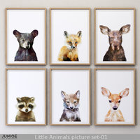 3D juniqe little animals picture