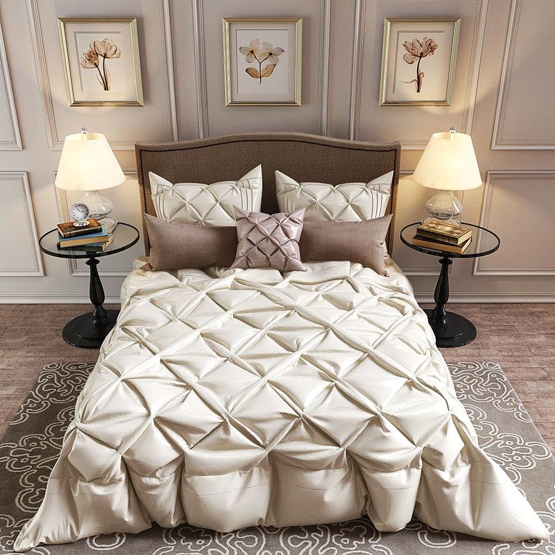 bedding set madison park 3D model