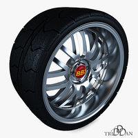 wheel bbs 3D model