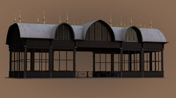 pbr passenger station 3D