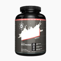 3D model whey bottle