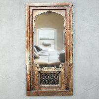 19th-c carved jharokha mirror 3D model
