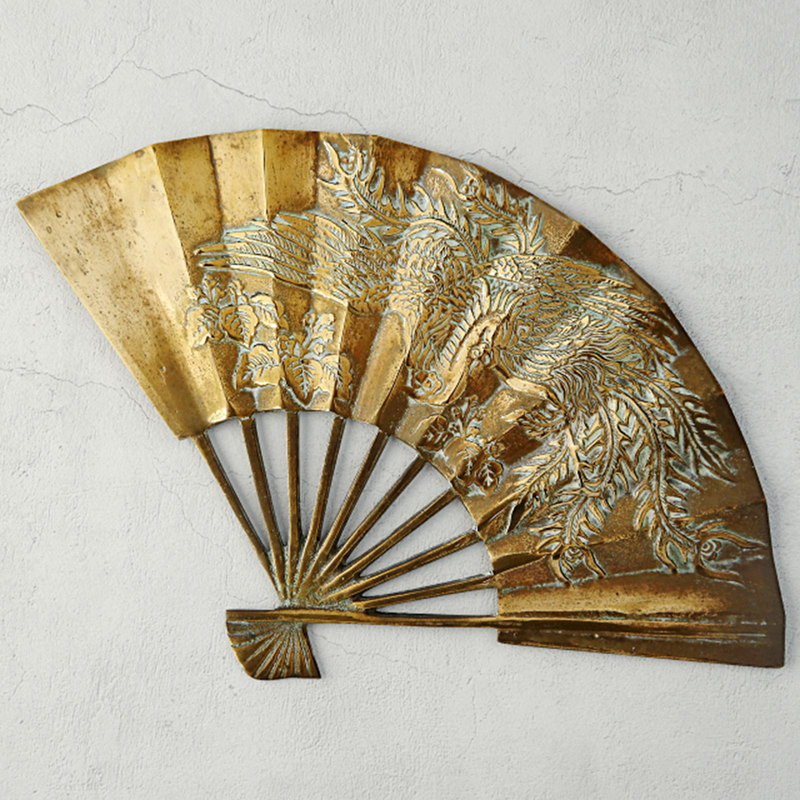 asian brass fan model