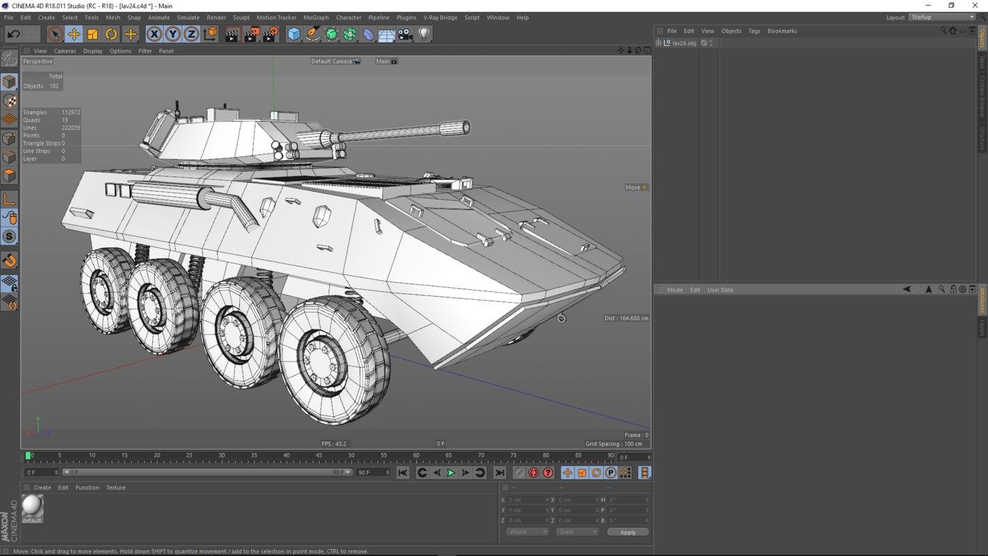 3D model lav 24