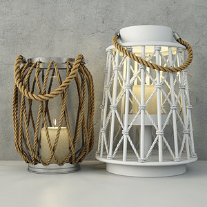 lanterns zara home 3D model