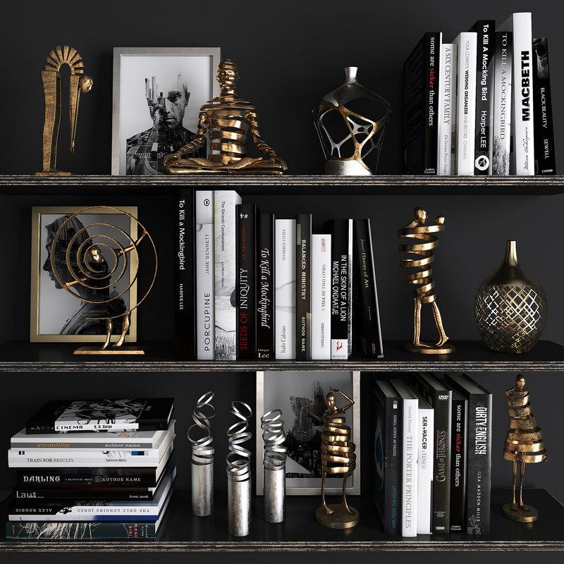 decorative set 18 3D model