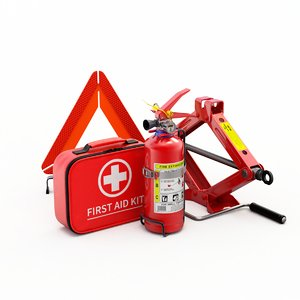 car extinguisher aid 3D