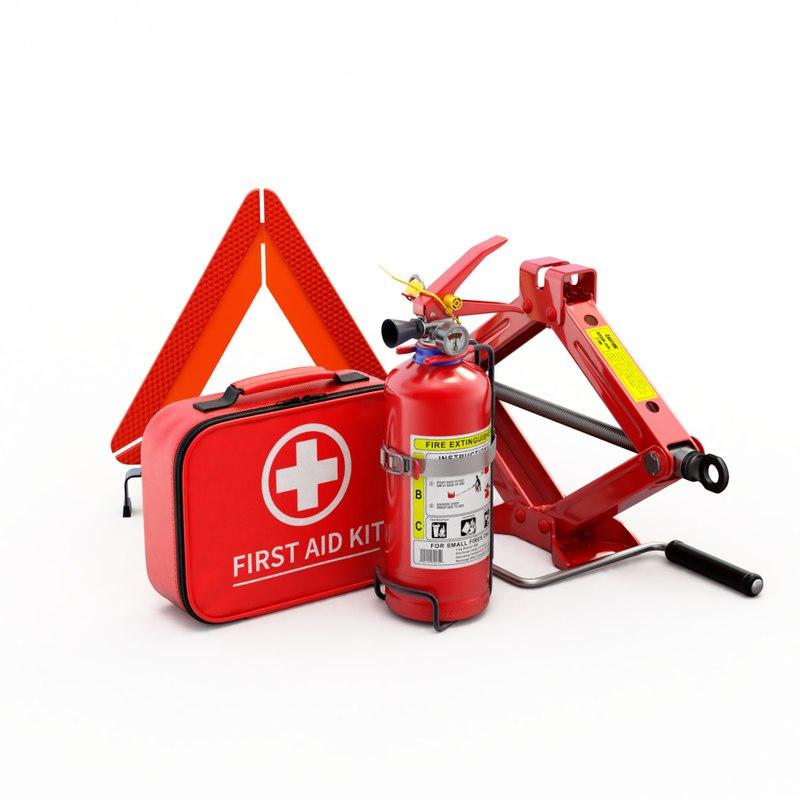 car extinguisher aid 3D