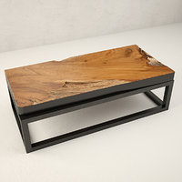 teak coffee table 3D model